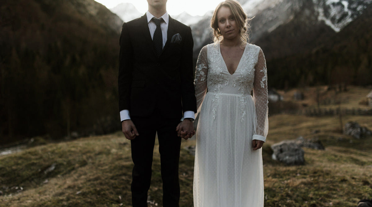 Elopement photographer Slovenia