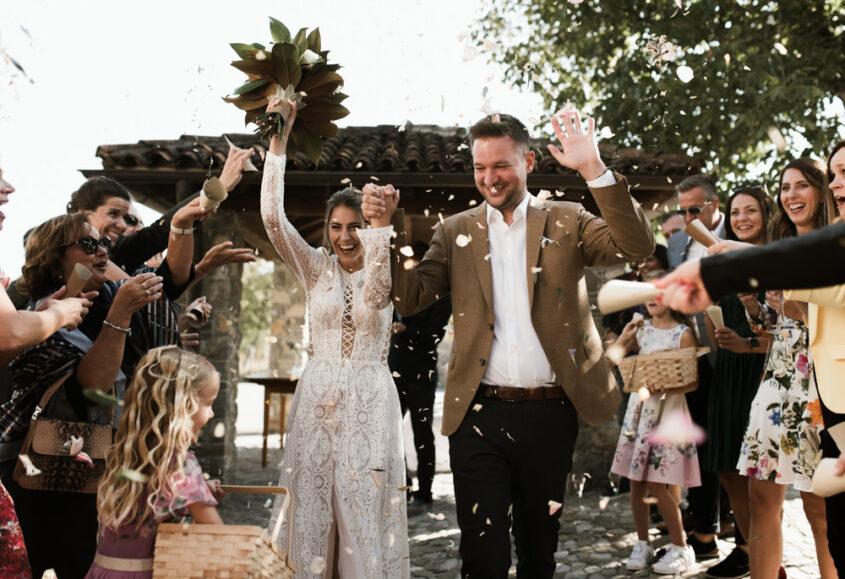 wedding at Majerija in Vipava valley