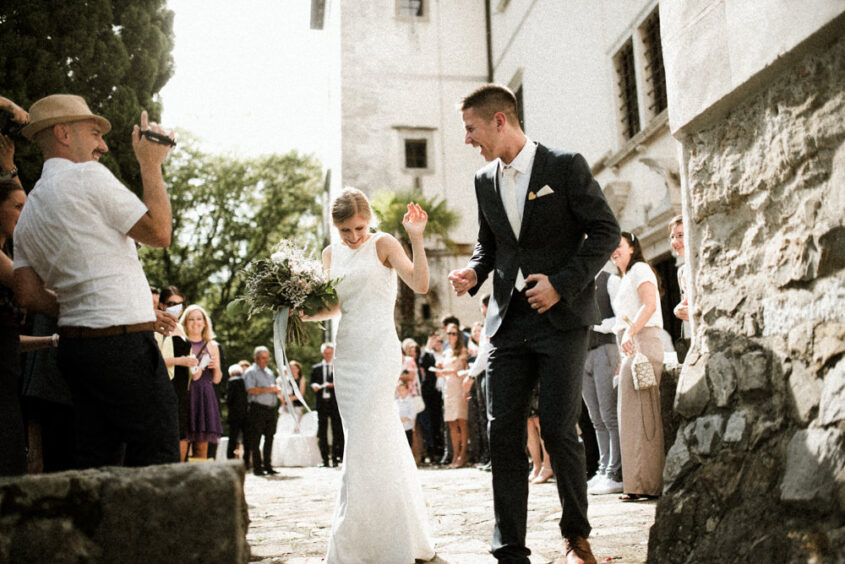 wedding at kromberg castle in vipava valley