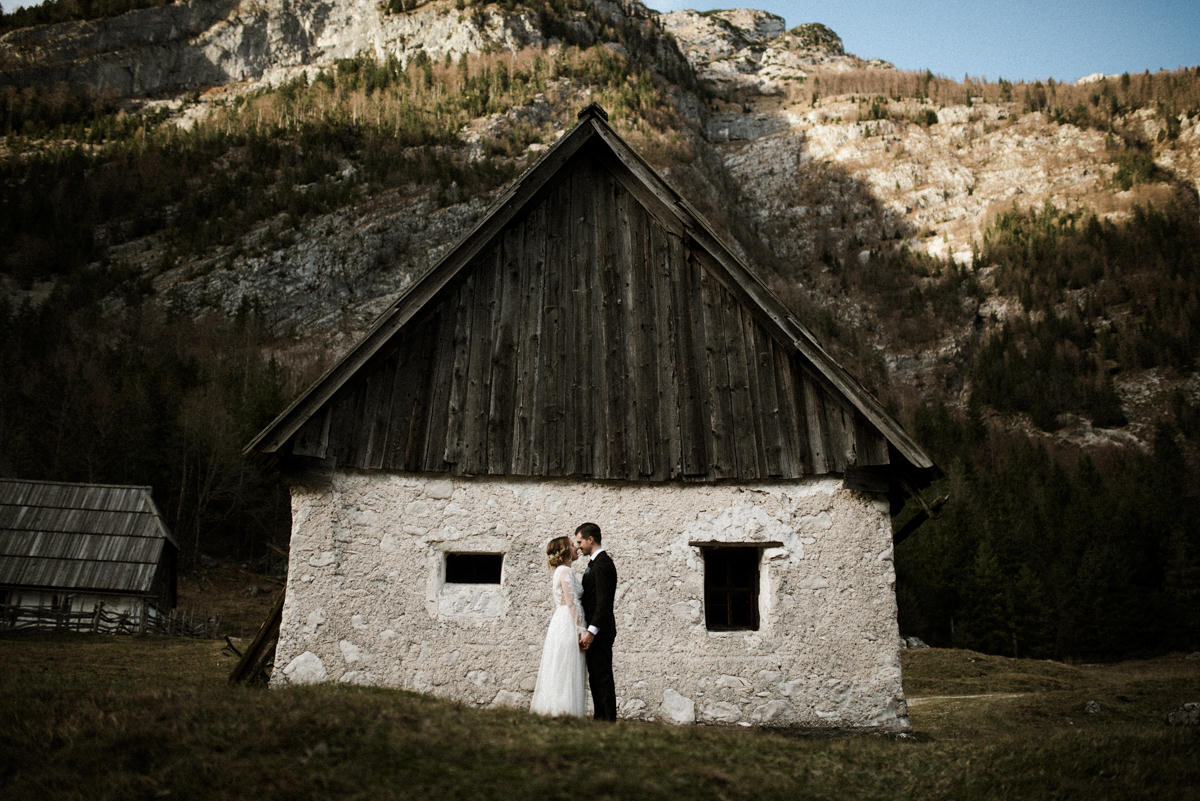 destination elopement in slovenia